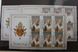 Vatikan 1517-1519 ** Postfrisch Als Kleinbogen Nominale #SD103 - Ohne Zuordnung