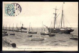 SAINT VALERY SUR SOMME 80 - La Sortie Du Port - #B171 - Saint Valery Sur Somme