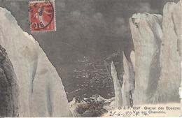 74 LES BOSSONS SERACS DU GLACIER DES BOSSONS VALLEE DE CHAMONIX MONT BLANC EDITEUR FRANCO SUISSE BF 1897 - Chamonix-Mont-Blanc