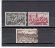 France - 1939 - N° YT 448/50** - Sites Et Paysages - Nuovi