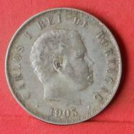 PORTUGAL 500 REIS 1903 - *SILVER*   KM# 535 - (Nº32495) - Portugal