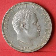 PORTUGAL 1000 REIS 1899 - *SILVER*   KM# 540 - (Nº32499) - Portugal