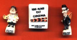 Lot De 3/10 Feves De La Série Laurel Et Hardy Fetent Les Rois 1996 - Cartoons