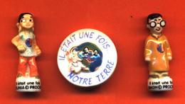 Lot De 3/10 Feves De La Série Il Etait Une Fois Notre Terre 2010 - Cartoons