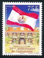 POLYNESIE 2014 - Yv. 1069 **  - Autonomie. Drapeau Et Palais Présidentiel  ..Réf.POL24967 - Neufs