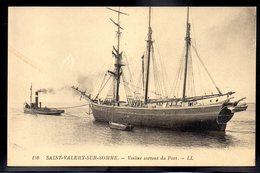 SAINT VALERY SUR SOMME 80 - Voilier Sortant Du Port - #B174 - Saint Valery Sur Somme