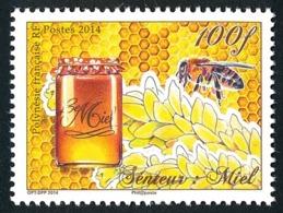 POLYNESIE 2014 - Yv. 1071 **  - Senteur: Miel Et Abeille  ..Réf.POL24971 - Neufs