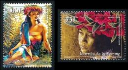 POLYNESIE 2014 - Yv. 1056 Et 1057 **  - Journée De La Femme (2 Val.)  ..Réf.POL24963 - Polynésie Française