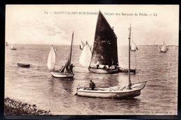 SAINT VALERY SUR SOMME 80 - Départ Des Barques De Pêche - #B175 - Saint Valery Sur Somme