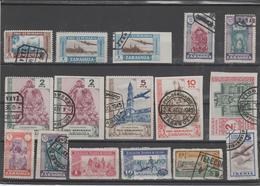 ESPAÑA LOTE DE SELLOS - Viñetas - Veneficos (K 13) - Used Stamps