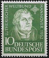 1952  Allem. Fed. Deutschland Germany Mi. 149 **MNH  Tagung Des Lutherischen Weltbundes, Hannover. - Ongebruikt