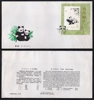 PR CHINA - CHINE /1985 BLOC SUR ENVELOPPE FDC  ILLUSTREE (5965) - 1980-89