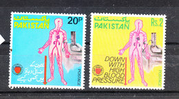 Pakistan - 1978. Attenzione Alla Ipertensione.  Down With High Blood Pressure, Complete MNH Series - Medizin
