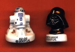 Lot De 2/10 Feves De La Série Star Wars 2007 - Comics