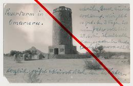 Foto - 1940 - Feuerturm Omaruru - Interniertenpost Kriegsgefangene Konzentrationslager Andalusia Transvaal - 3 Stempel! - Namibië