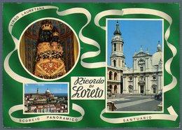 °°° Cartolina - Ricordo Di Loreto Vedute Viaggiata °°° - Ascoli Piceno