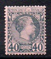 MONACO - YT N° 7 - Neuf * - MH - Cote: 125,00 € - Monaco