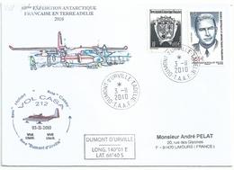 YT 524 Charles Gaston Rouillon - Alpiniste - Transport Par Avion - Dumont D'Urville - Terre Adélie - 03/11/2010 - Terres Australes Et Antarctiques Françaises (TAAF)