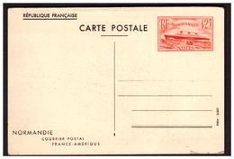 Entier Postal 299 CPI  Paquebot NORMANDIE - Biglietto Postale