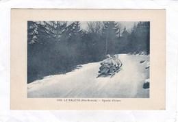 CPA :  14 X 9  -  1160. LE  SALEVE  -  Sports  D'hiver - Autres Communes
