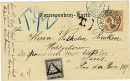1889, GA + Porto-Frankatur , A2868 - 1850-1918 Empire