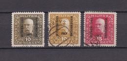 Bosnien-Herzegowina - Österreichische Besetzung - 1917 - Michel Nr. 119 A/b/120 - 20 Euro - Bosnia And Herzegovina