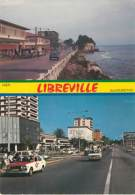GABON - LIBREVILLE - Deux Aspects Du Boulevard De L'indépendance - Gabon