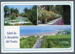 °°° Cartolina - S. Benedetto Del Tronto Vedute Viaggiata °°° - Ascoli Piceno
