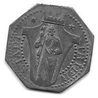 Notgeld Trier 10 Pfennig ND   ZN 549.3a/a - [ 2] 1871-1918 : Empire Allemand