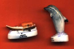 Lot De 2/10 Feves De La Série Flipper Le Dauphin 1998 - History
