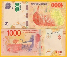 Argentina 1000 Pesos P-366 2017 (Series D) UNC - Argentina