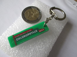 Porte Clef   Chewing Gum  Chlorophylle  May - Porte-clefs