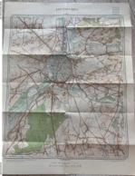 TOPOGRAFISCHE KAART / STAFKAART - Louvain Leuven 1937. - Cartes Topographiques