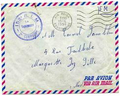 AIT-BEIDA ( Constantine) - Lettre En Franchise Militaire - 1956 - Algérie (1924-1962)
