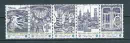 2009 Belgium Complete Set/strip UNESCO Used/gebruikt/oblitere - Belgium