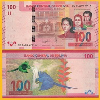 Bolivia 100 Bolivianos P-new 2018 UNC Banknote - Bolivië