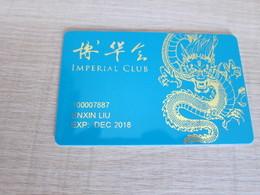 Imperial Club,Imperial Pacific International Macau - Casino Cards