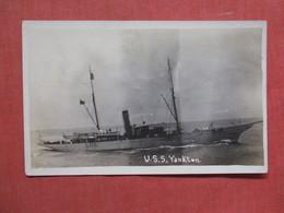 RPPC  U.S.S.  Yankton    Ref 3737 - Guerra