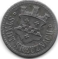 Notgeld  Kreuznach 10 Pfennig ND  Fe 7522.1/ F259.1 Jetzt Niedrigerer Preis!!!! - [ 2] 1871-1918 : Empire Allemand