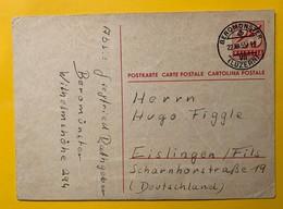 9320 - Entier Postal No 184 Beromünster 22.12.1955 - Entiers Postaux