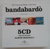 Rox  CD Bandabardò -  The Universal Music Collection -  5 CD -  Come Nuovi - Country & Folk