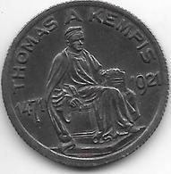 Notgeld Kempen A Rhein 50  Pfennig Thomas A Kempis 1921   6999.1/ F 241.1a - Allemagne