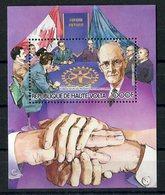RC 14625 HAUTE VOLTA ROTARY CLUB PAUL HARRIS BLOC FEUILLET NEUF ** MNH TB - Upper Volta (1958-1984)