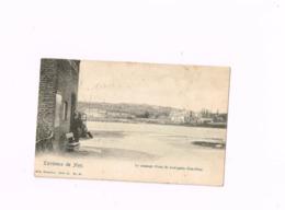 Environs De Huy.Le Passage D'eau De LOvegnée (Bas-Oha).Expédié De Huy à Tournai. - Wanze
