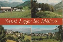 Carte Postale Des Années 80 Des Hautes-Alpes - Saint Léger Les Mélèzes - Vues Multiples - Frankreich