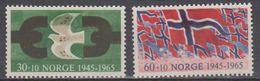 Norway 1965 Liberation / Befreiung 2v ** Mnh (45305F) - Noorwegen