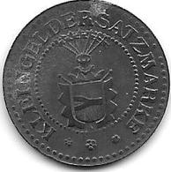 *notgeld Neumunster 10 Pfennig ND Zn 368.2a - Autres