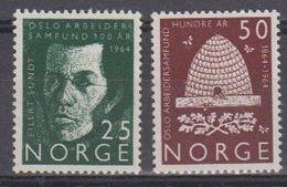 Norway 1964 Osloer Arbeiterverein 2v ** Mnh (45305G) - Noorwegen