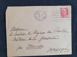 RENNES RP - 12 Avril 1949 - Ille Et Vilaine - Marcophilie (Lettres)