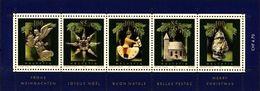 Schweiz Suisse 2004: Décoration De Noel / Weihnachts-Baumschmuck Zu 1146 Mi Block 37 Yv BF 37 ** MNH (Zu CHF 11.50) - Zusammendrucke